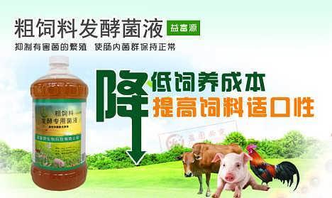 益富源粗饲料发酵剂发酵液态饲料养猪牛添加小苏打技术