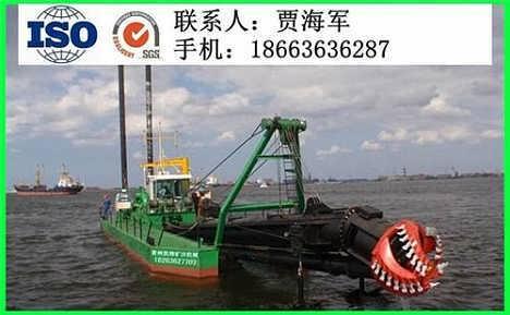 凯翔矿沙机械清淤船小型绞吸式清淤船