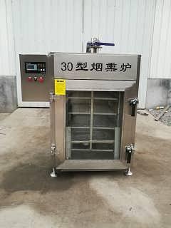 30型内置腊肠腊肉烟熏炉厂家直销-山东德昂机械科技有限公司
