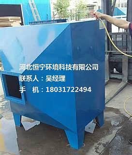 天津肌醇厂废气净化装置技术
