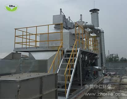 广东广州催化燃烧废气处理设备