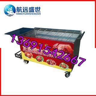 韩国摇摆烤鸡车|自动韩国摇摆烤车|韩国摇滚式烤鸡炉|燃气摇滚烧烤车