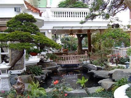 青岛园林景观庭院设计和施工服务