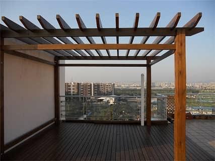 西安株洲防腐木-株洲卡尔建材, 小菜园景观
