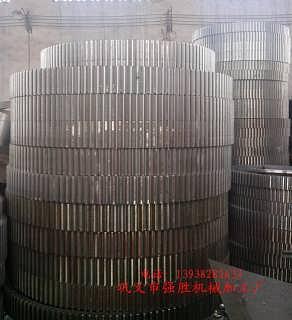 专业生产球磨机大齿轮 批量供应