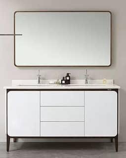 安德玛索实木浴室柜现代简约风E15