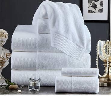 淮安毛巾厂家批发巴基斯坦进口棉纱生产16支长毛吸水铂金缎套装加厚毛巾