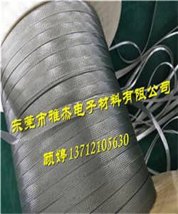 东莞不锈钢编织网套 304扁平编织线
