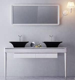 简约现代时尚艺术浴室柜ArtS005