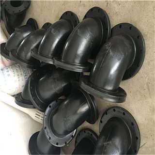 厂家直销耐油可曲挠橡胶接头 WTX型90法兰式橡胶弯头 耐腐蚀