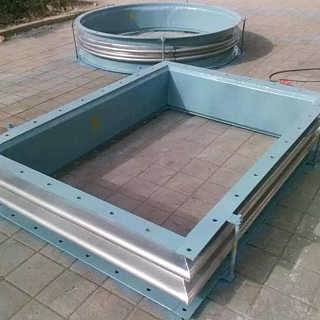 煤粉管道波纹补偿器 煤粉管道新型三向波纹-泊头市汇恒环保设备有限公司.