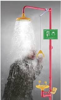 东莞不锈钢喷淋洗眼器厂家 潮州紧急洗眼器作用-苏州奥普实验设备有限公司项目组