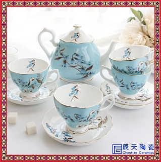 陶瓷加厚拿铁咖啡杯专业拉花卡布奇诺咖啡杯碟