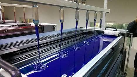 单张纸胶印机集中供墨系统