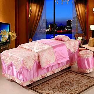 【美容床罩四件套】_江苏美容床罩定制_海门美容床四件套罩批发-海门市佳怡家纺有限公司