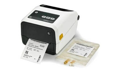 Zebra ZD420-HC 碳带盒打印机 - 医疗型号