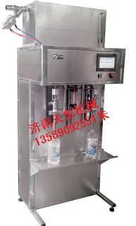 贵州半自动灌装机v自流式灌装机X-济南天鲁机械设备有限公司