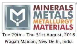 2018年印度国际矿物、金属、冶金及材料展-沈阳中展华睿国际展览有限公司