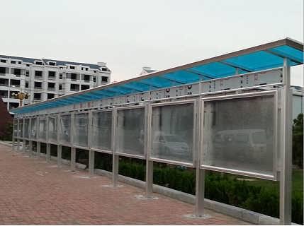 户外宣传栏佛山厂家发货-佛山市浩克铝业有限责任公司