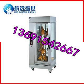 单门12只旋转烤鸡炉|制作烤鸡的机器|做北京烤鸭的机器|单开门旋转烤禽炉-北京航远盛世机电有限责任公司