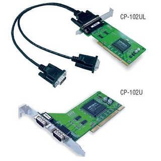 CP-102UL RS-232 2口PCI MOXA 多串口卡 聪明型