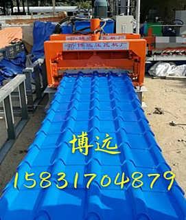 竹节琉璃瓦机器A榆林竹节琉璃瓦机器加工厂