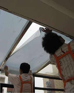 隔热膜功能 窗户西晒 北京玻璃贴膜