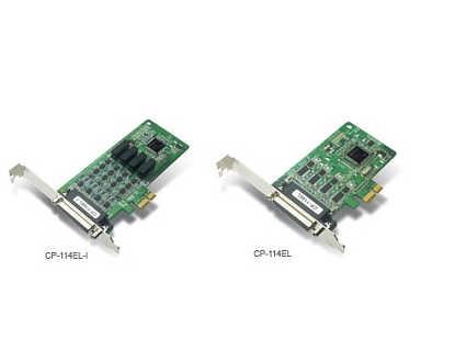 CP-114EL MOXA 4串口RS-232/422/485 聪明型 多串