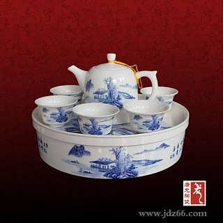 景德镇陶瓷茶具 玲珑茶具套装 茶具定制