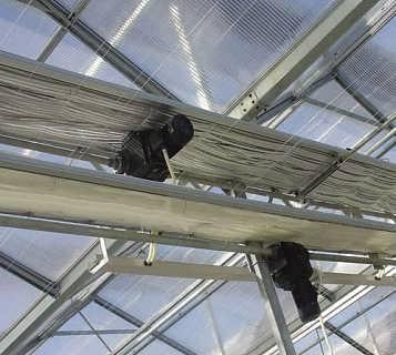 温室大棚内遮荫系统