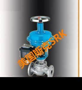 进口直通式水用气动调节阀