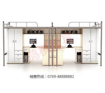 惠东宿舍公寓床学生公寓床批发-广东鸿棋智能家具有限公司.