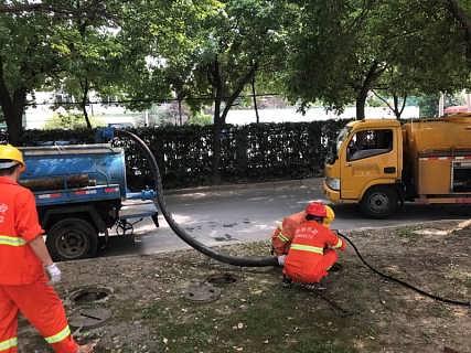 上海崇明县+小区化粪池清理+-上海赣迪市政工程有限公司