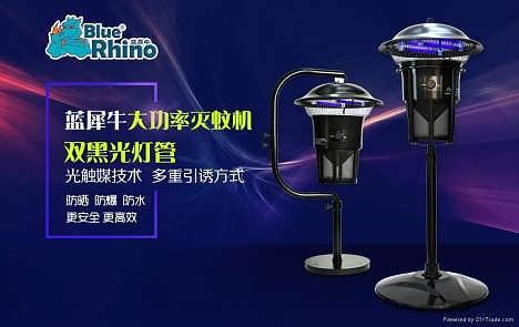提供户外花园蓝犀牛灭蚊灯SMT-001型-蓝犀牛环境科技(上海)有限公司