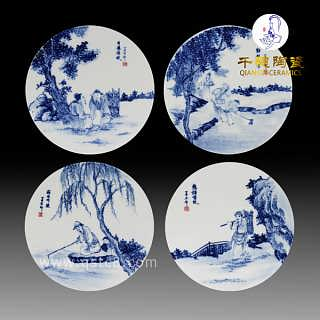 景德镇手工瓷片价格 工艺 品种 款式 手工瓷片价格大小-景德镇市千穗陶瓷有限公司.
