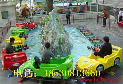 轨道类水陆战车游乐设备-郑州金山游乐设备机械制造有限公司总部