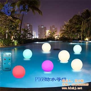 发光球灯海粒子太阳能led发光球灯