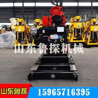 液压百米液压勘探钻机鲁探HZ-130YY百米岩心取样钻机便捷高效