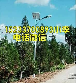 张家口乡村太阳能路灯全套价格多少