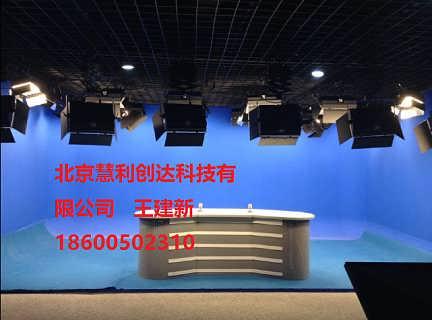 校园电视台搭建超清真三维虚拟搭建制作