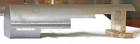 螺栓坯件径向检测对比试块
