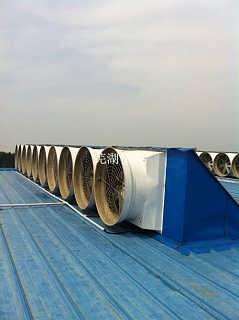 南京负压风机 厂房降温排烟设备