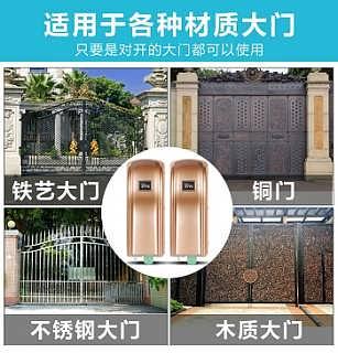 南京门业厂商供应商合作智能庭院遥控平开门机