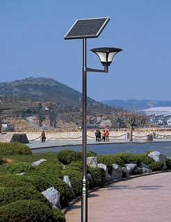 广汉太阳能庭院灯-成都骆驼电子有限公司