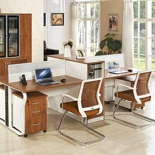厂家直销办公屏风隔断电脑桌