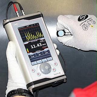 SONOWALL70德国进口高精度超声波测厚仪A扫/ B扫可升级为探伤仪