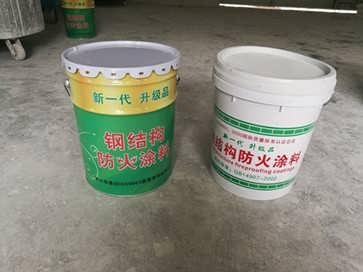 上海焱防牌室外薄型钢结构防火涂料价格