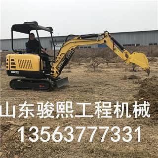 履带挖土机 小型挖掘机 挖沟机修下水道