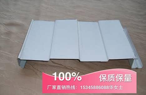 隐藏式墙面板373型,HV50-373型宝钢0.4厚白灰色暗扣373墙面板