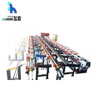 山东飞宏智能钢筋锯切套丝生产线FHST-40